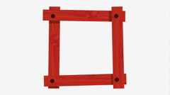Beauty frame design, Video Animation Stock Footage