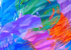 Watercolor paint abstract Stock Illustration