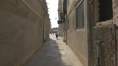 Walking towards Campo Santa Maria del Giglio, Venice Stock Footage