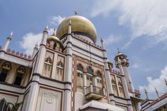 Sultan Mosque,Kampong Glam,Singapore - stock photo