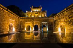 Imperial Citadel of Hanoi - stock photo