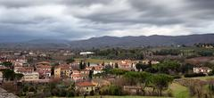 Arezzo From Above - stock photo