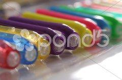 Gel Ink Set Stock Photos