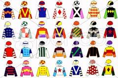 Jockey Uniforms Stock Photos