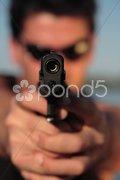 Don't Shoot 7 - stock photo