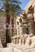 Egypt monuments - stock photo