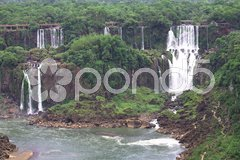Iguassu (Iguazu; Igua - stock photo
