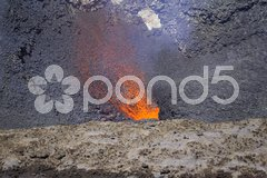 Red Hot Magma Stock Photos