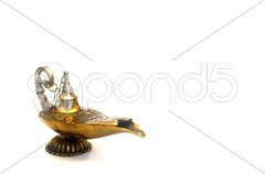 Magic Genie Lamp Stock Photos