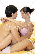 Foreplay, sex play Stock Photos