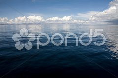 Lake Titicaca Waterscape - stock photo