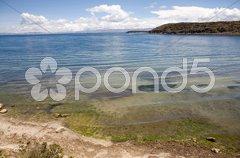 Isla del Sol - Titicaca - stock photo