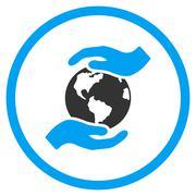 Stock Illustration of International Care Icon