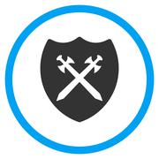 Security Shield Icon - stock illustration