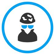 Spotted Spy Icon Stock Illustration