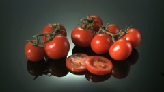 RED VINE TOMATOES Stock Footage