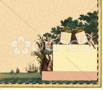Cartouche_6 - stock illustration