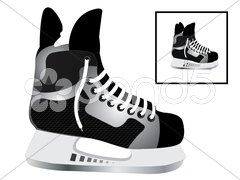 Hockey skates Kuvituskuvat