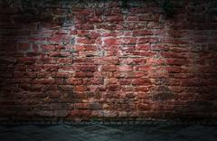 Stock Photo of Brick Wall Background Texture