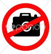 prohibited mobile - stock photo
