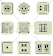 connectors - stock photo