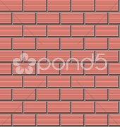 brickwork - stock photo