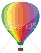 Colorful Hot Air Balloon Stock Photos