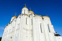 Assumption Cathedral, Vladimir, Golden Ring of Russia - stock photo