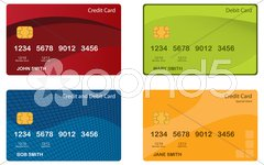 Stock Photo of Credit Card Designs