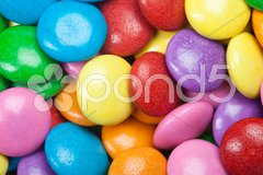 Colorful Chocolate Candy - stock photo