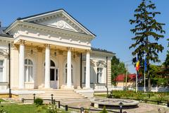 Stock Photo of The Archaeology Museum Of History Teodor Cincu