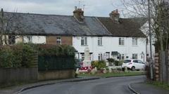 English Cottages Stock Footage
