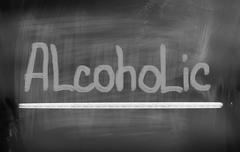 Alcoholic Concept Stock Illustration