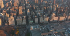 New York, Manhattan , Upper East Side, Museum Mile, Fifth Avenue, Aerial Stock Footage