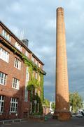 POTSDAM, GERMANY - SEPTEMBER 19: Industrial building in Potsdam Germany 19.09 - stock photo