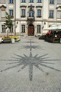 JELENIA GORA, POLAND - AUGUST 16: Marketplace in Jelenia Gora city in Poland. - stock photo