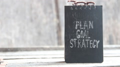 Plan, Goal, Strategy Stock Footage