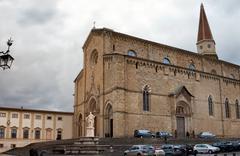 Arezzo Cathedral Stock Photos