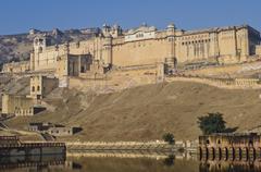 Amber Fort, Jaipur, India Stock Photos