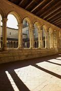 Stock Photo of Corridor of medieval building, Saint-Emilion, France