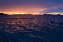 Sunset in Chuuk, Micronesia Stock Photos