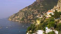 Amalfi Coast Italy 4K Stock Video Footage Stock Footage