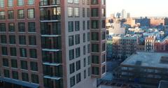 Pan of Manhattan New York City 4K Stock Video Stock Footage