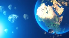 Planet Earth - stock footage