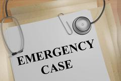 Emergency Case concept Stock Illustration