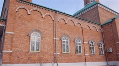 The Church building in Ukraine - stock footage