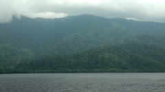 Coast of West Papua Stock Footage