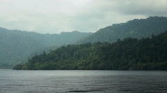 West Papua coast Stock Footage