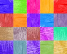 background from bright paint smear - stock photo