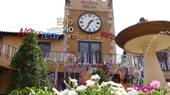 Piazzo palio. Stock Footage